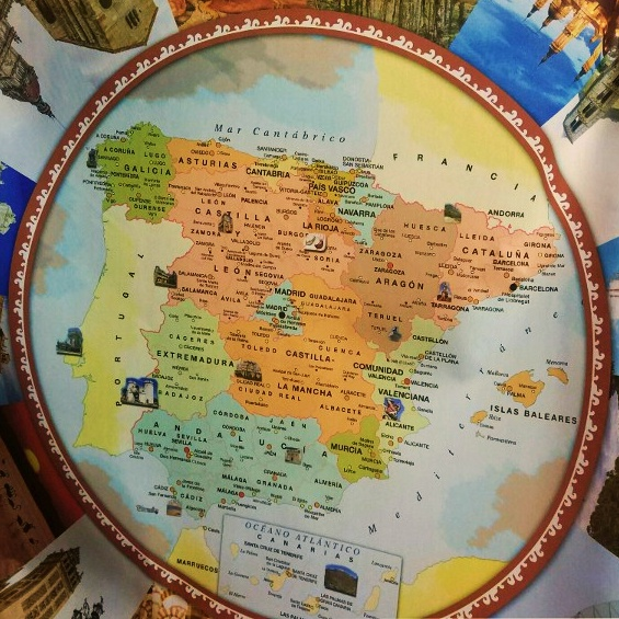 Holiday Map Of Spain.Holiday In Spain Essential Guide For Travelling To Spain